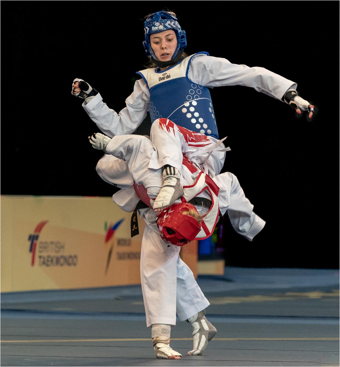 Taekwondo, Park vs Romero